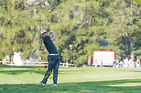 Haydn Porteous (RSA) in action on the 2nd hole during second round at the Omega European Masters, Golf Club Crans-sur-Sierre, Crans-Montana, Valais, Switzerland. 30/08/19.<br /> Picture Stefano DiMaria / Golffile.ie<br /> <br /> All photo usage must carry mandatory copyright credit (© Golffile | Stefano DiMaria)