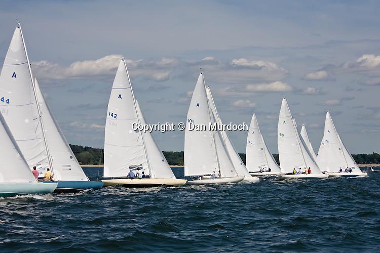 Atlantic sailboats at the start