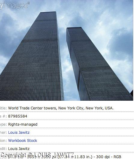 World Trade Center towers, New York City, New York, USA