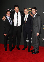 BEVERLY HILLS, CA - NOVEMBER 5: James Franco, Dave Franco, Scott Neustadter, Michael H. Weber, at The 21st Annual Hollywood Film Awards at the The Beverly Hilton Hotel in Beverly Hills, California on November 5, 2017. Credit: Faye Sadou/MediaPunch