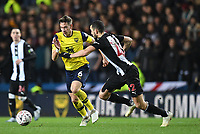 4th February 2020; Kassam Stadium, Oxford, Oxfordshire, England; English FA Cup Football; Oxford United versus Newcastle United; Alex Gorrin of Oxford competes for the ball with Nabil Bentaleb of Newcastle