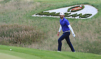 Gregory Havret (FRA) on the 16th green during Round 4 of Made in Denmark at Himmerland Golf &amp; Spa Resort, Farso, Denmark. 27/08/2017<br /> Picture: Golffile | Thos Caffrey<br /> <br /> All photo usage must carry mandatory copyright credit     (&copy; Golffile | Thos Caffrey)
