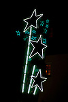 Neon sign for the Cinegrill at theRoosevelt Hotel in Hollywood, CA