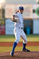 April 12th 2010: Brooks Raley of the Daytona Cubs, Florida State League High-A affiliate of the Chicago Cubs in a game against the Dunedin Blue Jays Florida State League High-A affiliate of the Toronto Blue Jays at Jackie Robinson Ballpark in Daytona Beach, FL (Photo By Scott Jontes/Four Seam