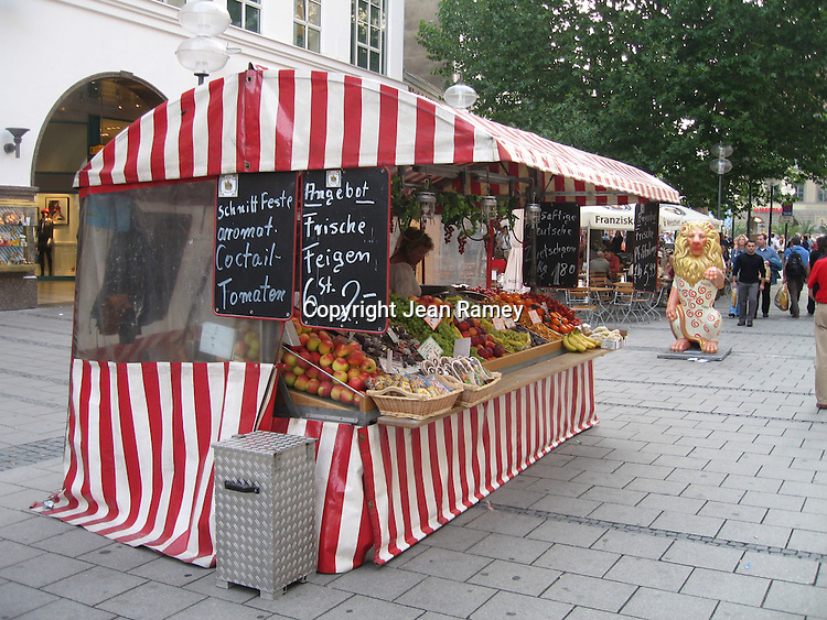 Fruit stand - Munich, Germany
