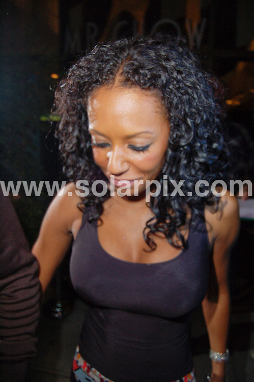**ALL ROUND PICTURES FROM SOLARPIX.COM**.**SYNDICATION RIGHTS FOR UK, AUSTRALIA, DENMARK, PORTUGAL, S. AFRICA, SPAIN & DUBAI (U.A.E) ONLY**.Melanie Brown and her husband Stephen Belafonte leaves Mr Chow restaurant in Beverly Hills, CA, USA. 3 August 2009.This pic: Melanie Brown..JOB REF: 9690 PHZ (Iakona)   DATE: 03_08_2009.**MUST CREDIT SOLARPIX.COM OR DOUBLE FEE WILL BE CHARGED**.**MUST NOTIFY SOLARPIX OF ONLINE USAGE**.**CALL US ON: +34 952 811 768 or LOW RATE FROM UK 0844 617 7637**