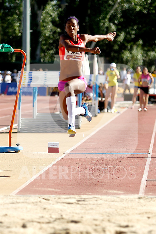 Ribalta Josleidys in triple jump during Meeting Madrid 2012, Madrid 7 july 2012.(ALTERPHOTOS/ARNEDO)