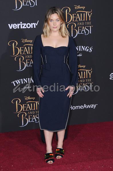 "02 March 2017 - Hollywood, California - Rachel Keller. Los Angeles premiere of Disney's ""Beauty and the Beast' held at El Capitan Theatre. Photo Credit: Birdie Thompson/AdMedia"