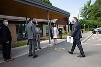Conference de presse de Francois Legault durant la crise du COVID-19,<br /> le 3 juillet 2020<br /> <br /> PHOTO : Emilie Nadeau, Cabinet du Premier Ministre