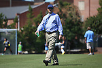15 September 2013: UNC head coach Anson Dorrance. The University of North Carolina Tar Heels hosted the University of Notre Dame Fighting Irish at Fetzer Field in Chapel Hill, NC in a 2013 NCAA Division I Women's Soccer match. Notre Dame won the game 1-0.