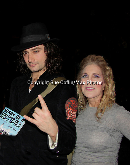 Ilene Zatkin-Butler won a walk on role on Broadway's Rock of Ages starring Bold and The Beautiful Constantine Maroulis at the Helen Hayes Theatre, NYC, NY on December 17, 2014 while attending The Jane Elissa Extravaganza 2014 - 19 years - benefiting the Jane Elissa/Charlotte Meyer Endowment Fund which raises revenue that directly supports the research  of the Leukemia/Lymphoma Society. The grant goes to an individual researcher. (Photo by Sue Coflin/Max Photos)