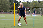 CARY, NC - JULY 27: Makenzy Doniak. The North Carolina Courage held a training session on July 27, 2017, at WakeMed Soccer Park Field 7 in Cary, NC.
