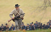 Prairie Grove battle re-enactment