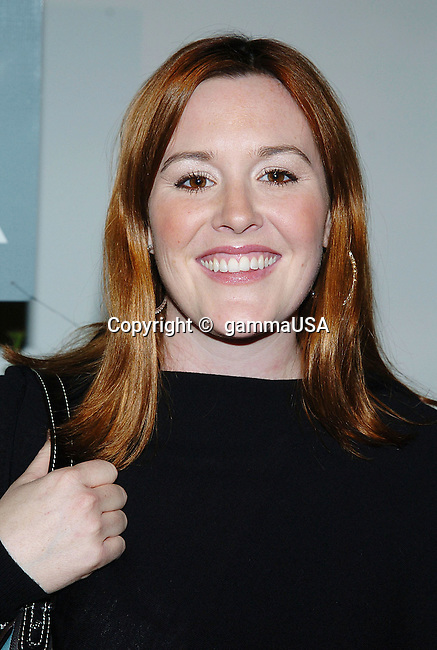 Rachel McFarlan arriving at the FOX tca Winter Party at the Meson G in Los Angeles. January 17, 2005.