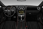Stock photo of straight dashboard view of 2016 Bentley Continental-GT V8 3 Door Coupe Dashboard