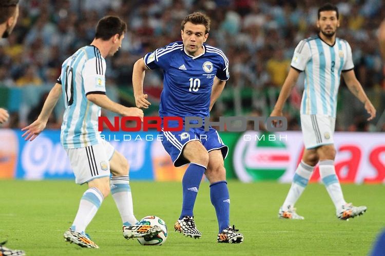 15.06.2014., Rio de Janeiro, Brazil -  FIFA World Cup, group F, Argentina - Bosnia and Herzegovina. Zvjezdan Misimovic.<br /> <br /> Foto &copy;  nph / Halopix