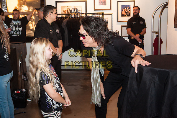 LAS VEGAS, NV - November 8: Paul Stanley Signs his book 'Face The Music: A life Exposed' at Hard Rock Hotel &amp; Casino in Las vegas, NV on November 8, 2014.   <br /> CAP/MPI/RTN/EK<br /> &copy;RTNEK/MediaPunch/Capital Pictures
