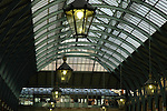 Interior of Covent Garden Market London UK