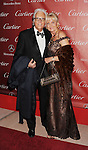 PALM SPRINGS, CA - JANUARY 05: Jack Jones and Eleonora Jones arrive at the 24th Annual Palm Springs International Film Festival - Awards Gala at the Palm Springs Convention Center on January 5, 2013 in Palm Springs, California..