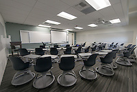 Classroom in Johnson Hall, August 27, 2013. (Photo by Marc Campos, Occidental College Photographer)