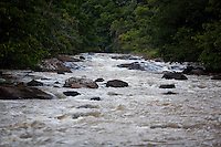 Domingos Martins_ES, Brasil...Rio que pertence a rota historica denominada Estrada Imperial...A river in the route historically known as Imperial road...Foto: LEO DRUMOND / NITRO.