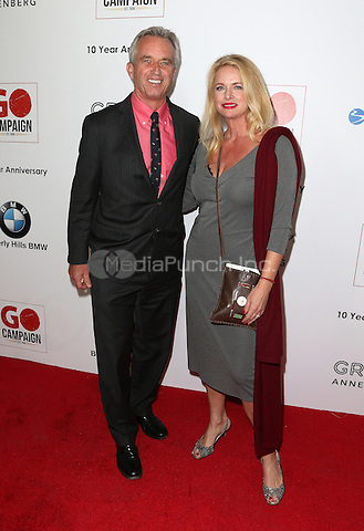 Los Angeles, CA - NOVEMBER 05: Robert F. Kennedy, Jr., Donna Dixon at The 10th Annual GO Campaign Gala in Los Angeles At Manuela, California on November 05, 2016. Credit: Faye Sadou/MediaPunch