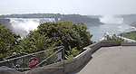 Niagara Falls, Ontario, Canada - 01 August 2006---Niagara River with the Horseshoe Falls (ri), on the Canadian side and the American Falls (le), on the United States' side---nature, landscape---Photo: © HorstWagner.eu