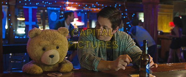 Ted 2 (2015) <br /> Ted (voice of Seth MacFarlane), Mark Wahlberg<br /> *Filmstill - Editorial Use Only*<br /> CAP/KFS<br /> Image supplied by Capital Pictures