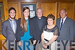 Freddie Galvin, Karen Coleman, Fr John Kerin, Sheila Galvin and John Galvin  at the Scartaglen GAA social in the River Island Hotel on Saturday night