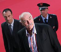 L'attore Sean Connery arriva all'auditorium di Roma per il Festival internazionale del cinema. Rome Cinema international Festival<br /> Foto INSIDE (www.insidefoto.com)