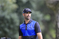 Alvaro Quiros (ESP) tees off the 7th tee during Sunday's storm delayed Final Round 3 of the Andalucia Valderrama Masters 2018 hosted by the Sergio Foundation, held at Real Golf de Valderrama, Sotogrande, San Roque, Spain. 21st October 2018.<br /> Picture: Eoin Clarke | Golffile<br /> <br /> <br /> All photos usage must carry mandatory copyright credit (&copy; Golffile | Eoin Clarke)