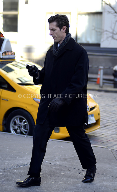 WWW.ACEPIXS.COM....February 4 2013, New York City....Jason Hoppy out in Tribeca on February 4 2013 in New York City........By Line: Curtis Means/ACE Pictures......ACE Pictures, Inc...tel: 646 769 0430..Email: info@acepixs.com..www.acepixs.com