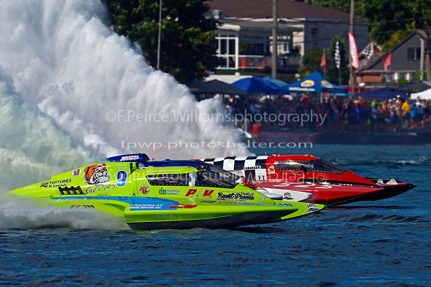 "Mathew Daoust, GP-9, Mike Monahan, GP-35 ""TM Special"", Tom Thompson, GP-525 ""Fat Chance"" (Grand Prix Hydroplane(s)"