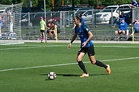 Kansas City, MO - Saturday May 13, 2017: Yael Averbuch during a regular season National Women's Soccer League (NWSL) match between FC Kansas City and the Portland Thorns FC at Children's Mercy Victory Field.