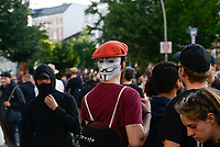 GERMANY, Hamburg, Schanzenviertel, protests against G-20 summit in july 2017 / DEUTSCHLAND, Hamburg, Schanzenviertel, Proteste gegen G20 Gipfel vor der Rote Flora