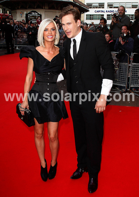**ALL ROUND PICTURES FROM SOLARPIX.COM**.**WORLDWIDE SYNDICATION RIGHTS**.Outside Red carpet arrivals for the World Premiere of - The Heavy - at the Odeon West End, London, UK. 15 April 2010..This pic: Samantha Miller and Lee Ryan..JOB REF: 11094 LNJ     DATE: 15_04_2010.**MUST CREDIT SOLARPIX.COM OR DOUBLE FEE WILL BE CHARGED**.**MUST NOTIFY SOLARPIX OF ONLINE USAGE**.**CALL US ON: +34 952 811 768 or LOW RATE FROM UK 0844 617 7637**
