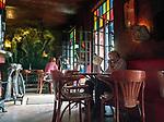 Pub &bdquo;Mechanoff&rdquo; na Placu Nowym na krakowskim Kazimierzu.<br /> &bdquo;Mechanoff&quot; Pub at New Square on Krakow's Kazimierz.