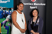 Administrator of the Year Finalist Caroline Leong from the Special Olympics Manukau.  Counties Manukau Sport Sporting Excellence Awards held at the Telstra Clear Pacific Events Centre Manukau on December 1st 2011.