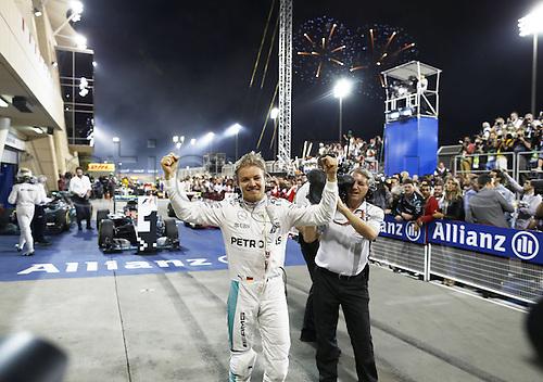 03.04.2016. Sakhir, Bahrain. F1  Grand Prix of Bahrain. Winner 6 Nico Rosberg (GER, Mercedes AMG Petronas Formula One Team)