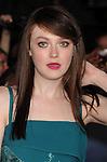 LOS ANGELES, CA - NOVEMBER 12: Dakota Fanning arrives at 'The Twilight Saga: Breaking Dawn - Part 2' Los Angeles premiere at Nokia Theatre L.A. Live on November 12, 2012 in Los Angeles, California.