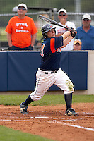 SAN ANTONIO, TX - APRIL 29, 2007: The Sam Houston State University Bearkats vs. The University of Texas at San Antonio Roadrunners Softball at Roadrunner Field. (Photo by Jeff Huehn)