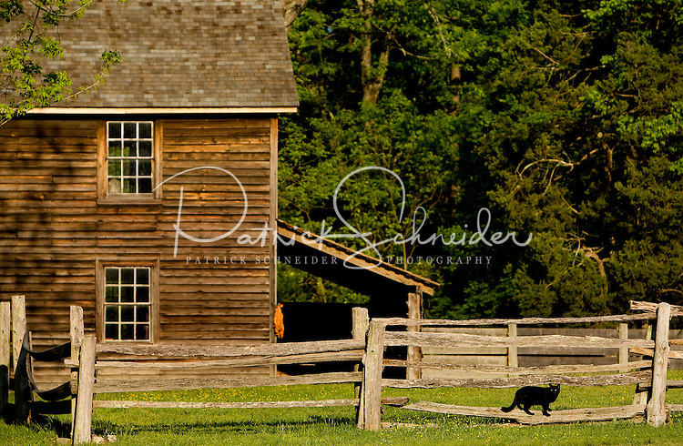"Duke Homestead State Historic Site in Durham, NC. The restored Duke Homestead is an authentic ""living museum of tobacco history"" offering activities that demonstrate early farming techniques and manufacturing processes which made tobacco such an essential mainstay of the state's economy."