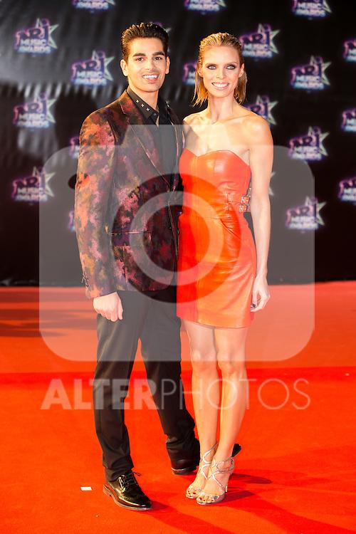 Sylvie Tellier et Christophe Licata