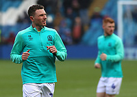 Blackburn Rovers' Corry Evans during the pre-match warm-up <br /> <br /> Photographer David Shipman/CameraSport<br /> <br /> The EFL Sky Bet Championship - Sheffield Wednesday v Blackburn Rovers - Saturday 16th March 2019 - Hillsborough - Sheffield<br /> <br /> World Copyright &copy; 2019 CameraSport. All rights reserved. 43 Linden Ave. Countesthorpe. Leicester. England. LE8 5PG - Tel: +44 (0) 116 277 4147 - admin@camerasport.com - www.camerasport.com