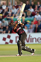 Babar Azam hits 6 runs for Somerset during Essex Eagles vs Somerset, Vitality Blast T20 Cricket at The Cloudfm County Ground on 7th August 2019