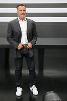 São Paulo (SP), 14/04/2019 - Politica / Encontro / Dória - Schwarzegger - Arnold Schwarzenegger, Ator e ex-Governador da Califórnia, encontra-se com o Governador de São Paulo, João Doria, para discutir ações de sustentabilidade e economia verde, no Palácio dos Bandeirantes, neste domingo, 14. ( Foto: Charles Sholl/Brazil Photo Press/Agencia O Globo) Politica