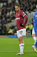 Javier Hernandez Of West Ham United during West Ham United vs Cardiff City, Premier League Football at The London Stadium on 4th December 2018