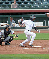 Estevan Florial - Scottsdale Scorpions - 2017 Arizona Fall League (Bill Mitchell)