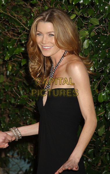 ELLEN POMPEO.2006 Writers Guild Awards held at The Hollywood Palladium, Hollywood, California, USA..February 4th, 2006.Photo: Laura Farr/AdMedia/Capital Pictures.Ref: LF/ADM.half length black halterneck.www.capitalpictures.com.sales@capitalpictures.com.© Capital Pictures.
