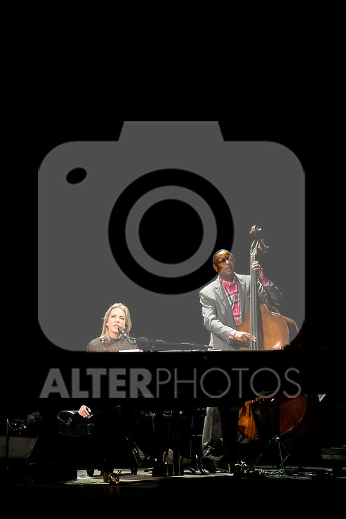 Diana Krall in concert at the Teatro Real in Madrid. July 27. 2016. (ALTERPHOTOS/Borja B.Hojas)